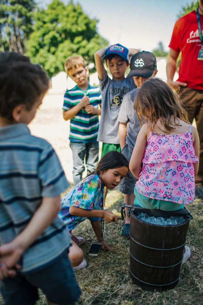 Whole Earth Nature School's Summer Harvest